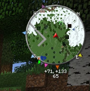 Zans Minimap Mod For Minecarft Mod Is Very Handy It - Mini map para minecraft 1 10 2