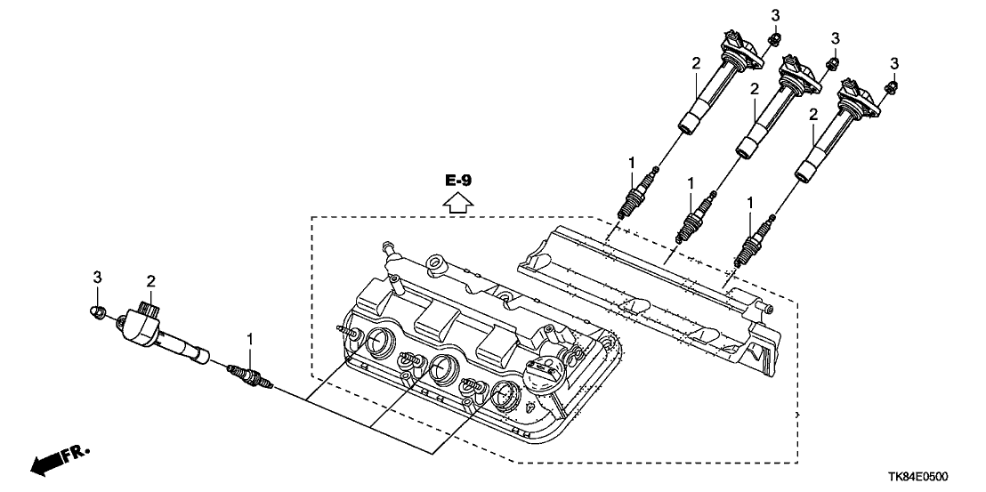 2011 Odyssey Engine Diagram