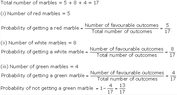Ncert Solutions For Class 10 Maths Chapter 15 Probability Ex 15 1 A Plus Topper Com Maths Solutions Math Probability