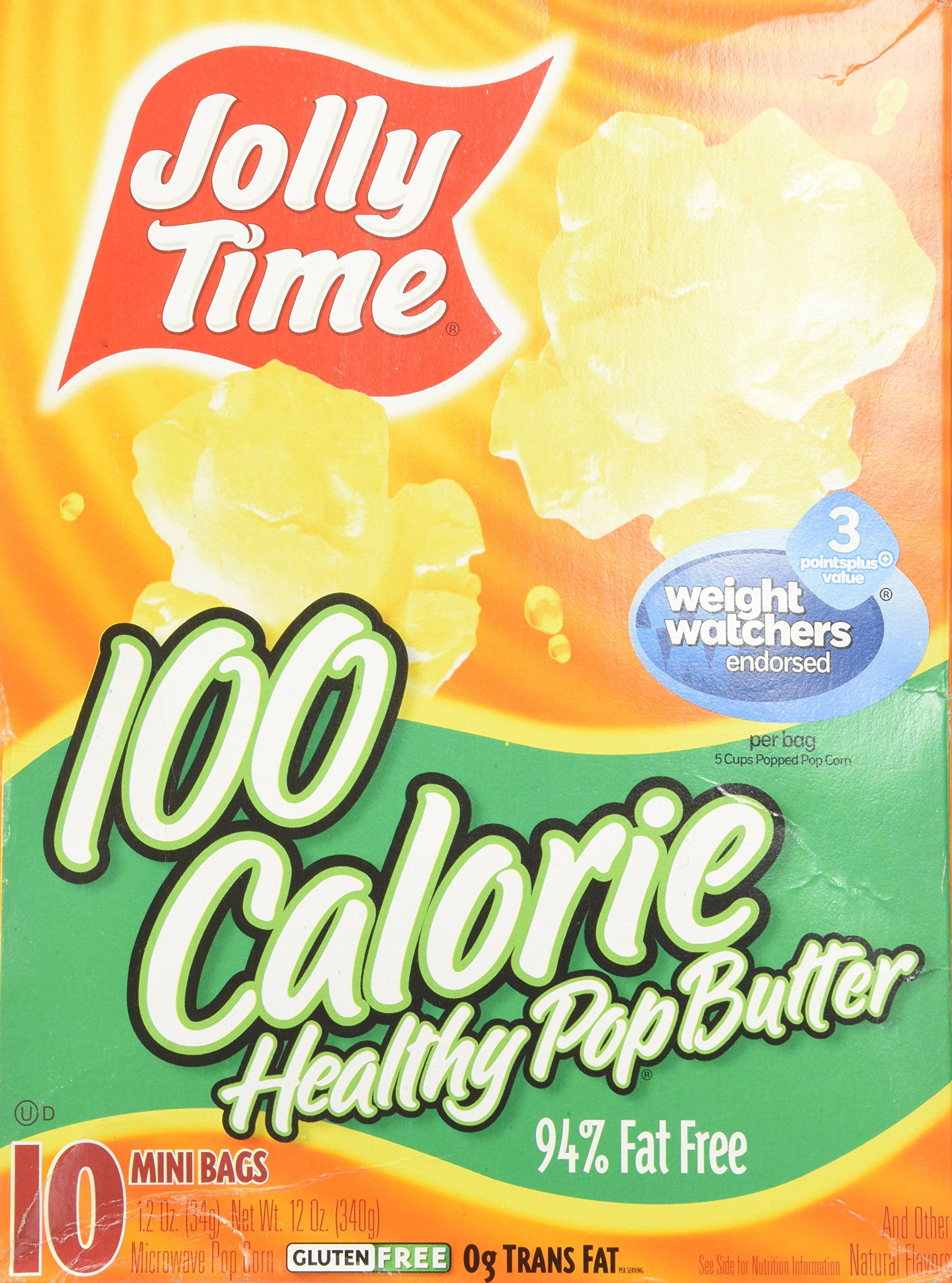 Jolly Time Popcorn 100 Calorie Healthy Pop Butter Mini Bags 10 Ct Continue To The Product At The Image Jolly Time Popcorn Healthy Diet Snacks 100 Calories