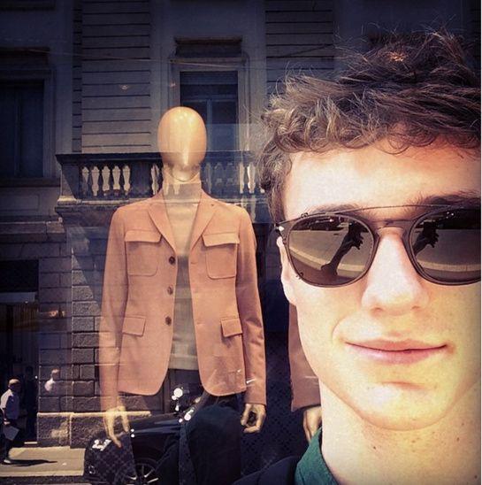 La semaine des mannequins hommes sur Instagram