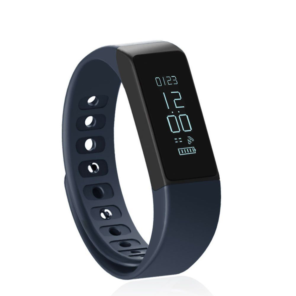 Fitness tracker pedometer shonco i plus waterproof bluetooth