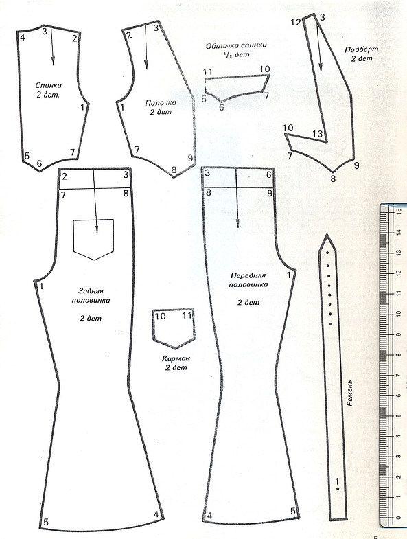 сканирование0072 | Muñecas patrones y Vestidos | Pinterest | Ropa de ...