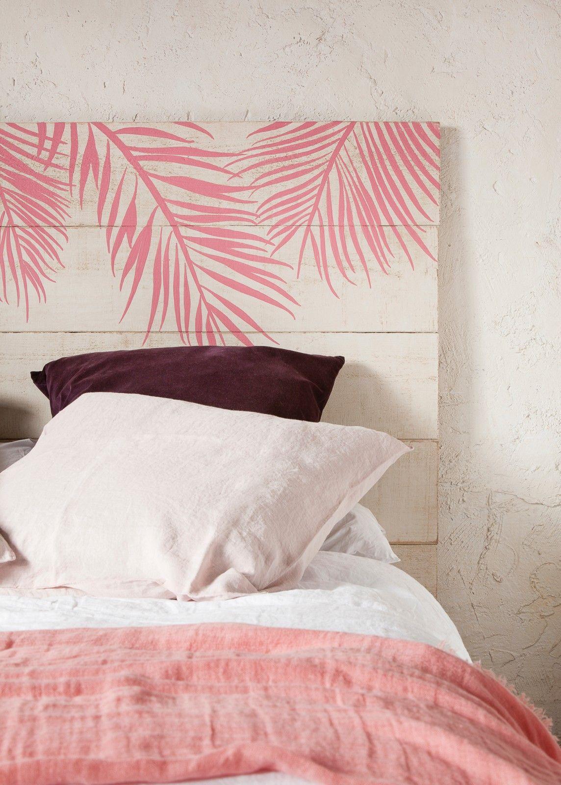 Cabecero Pink Palm