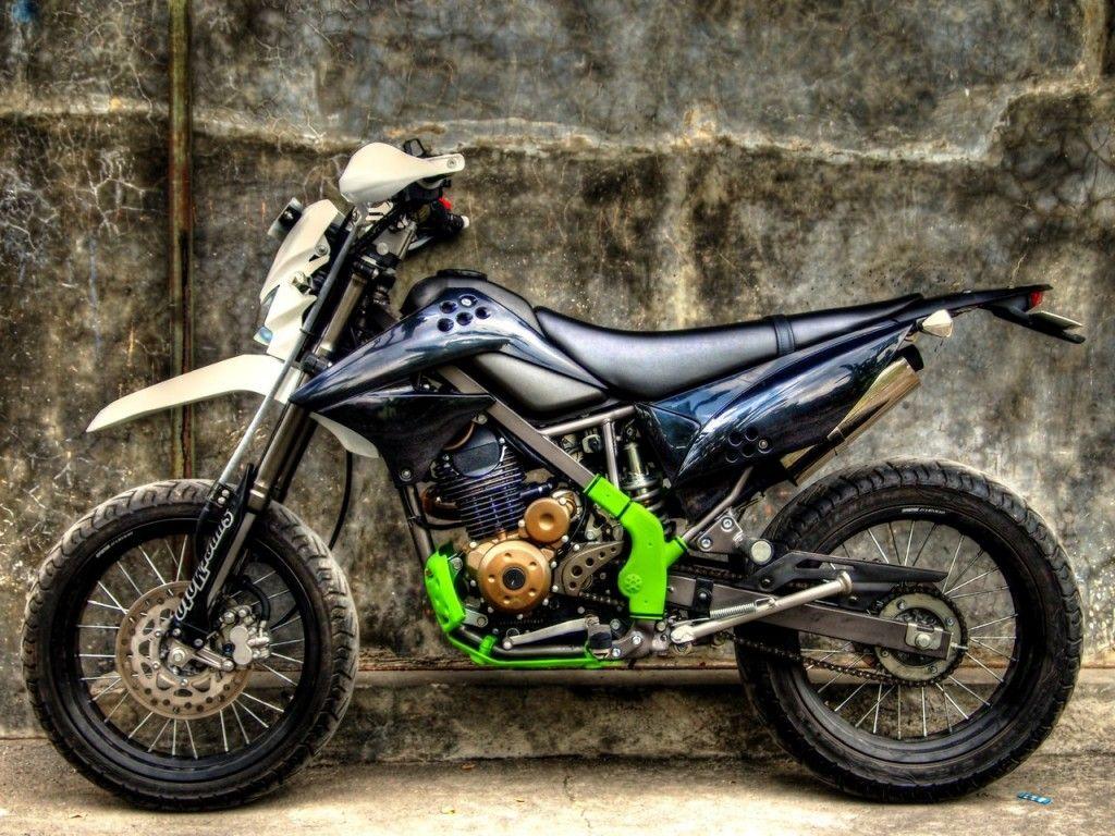 Download Kumpulan Modifikasi Motor Trail Klx Terlengkap Velgy Motor