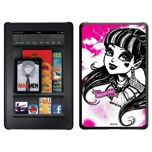 Amazon Fire Cases 7 Inch Monster High Draculaura Design On A Black Thinshield Case For Amazon Kindle Fire Case Kindle Fire Case