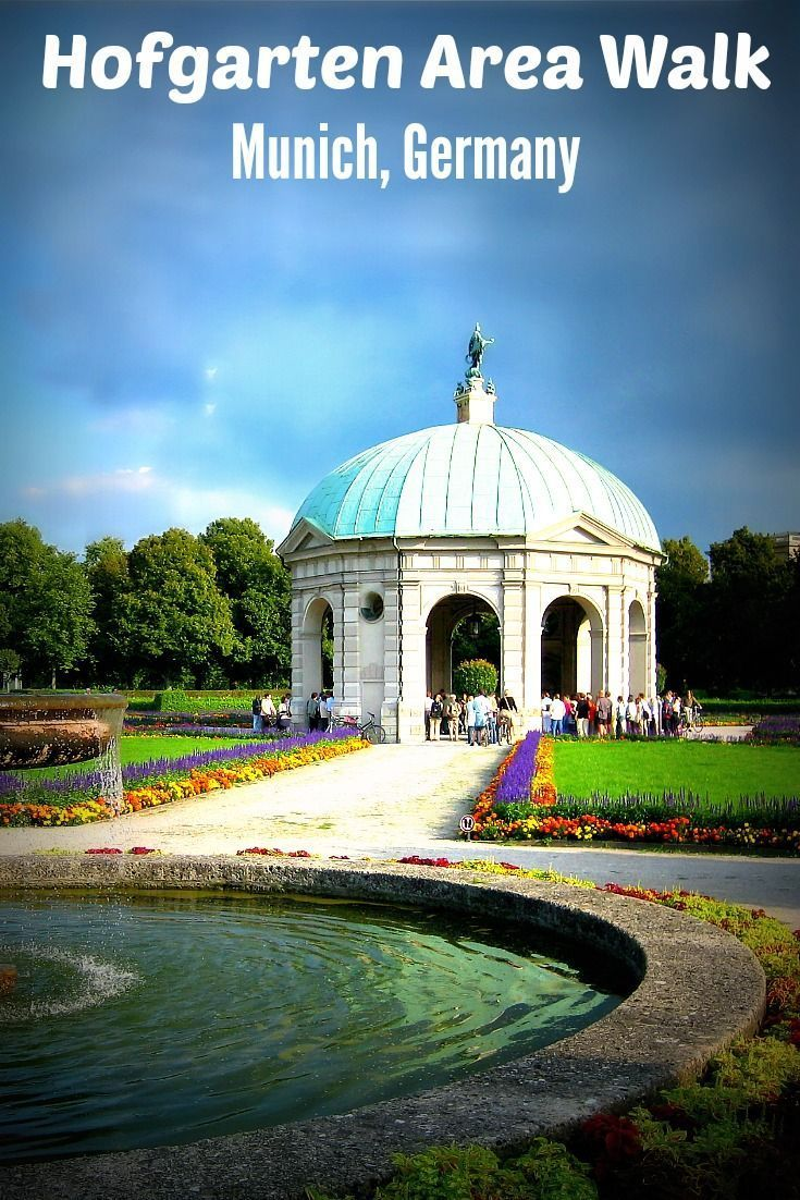 Nice The Hofgarten Court Garden is a garden in the heart of Munich found