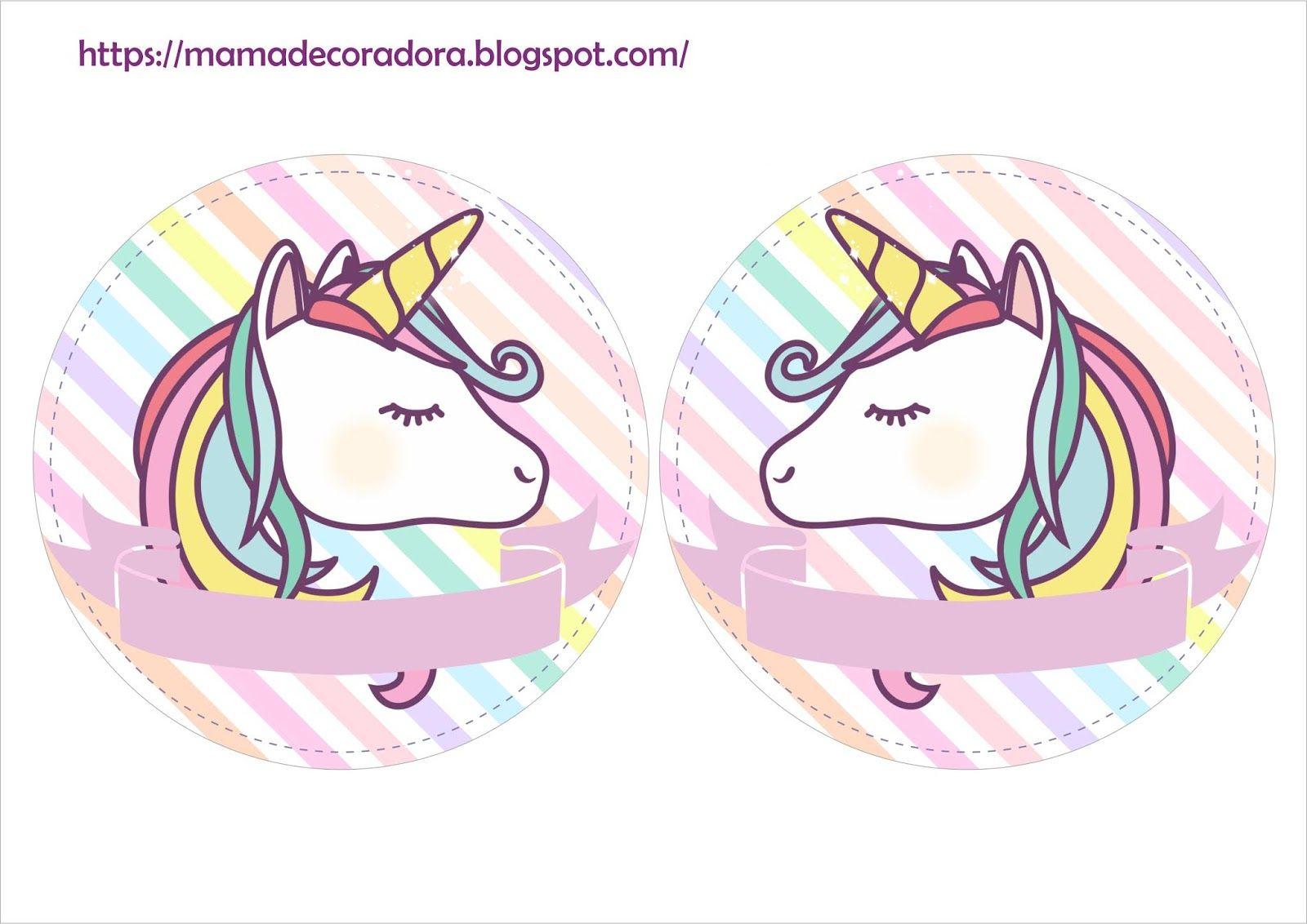 Kit Imprimible Unicornio Gratis Kit Imprimible Imprimibles