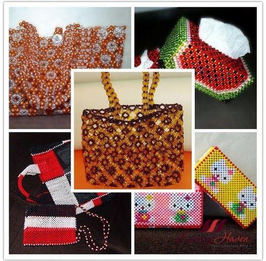 DIY Handmade Beaded Bags Plus Other Handicrafts