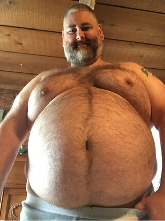 Big chubby men