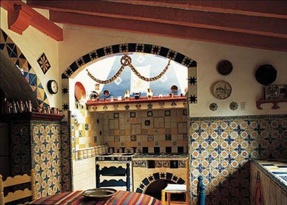Porque una cocina mexicana tradicional siempre será hermosa. ¿a ...