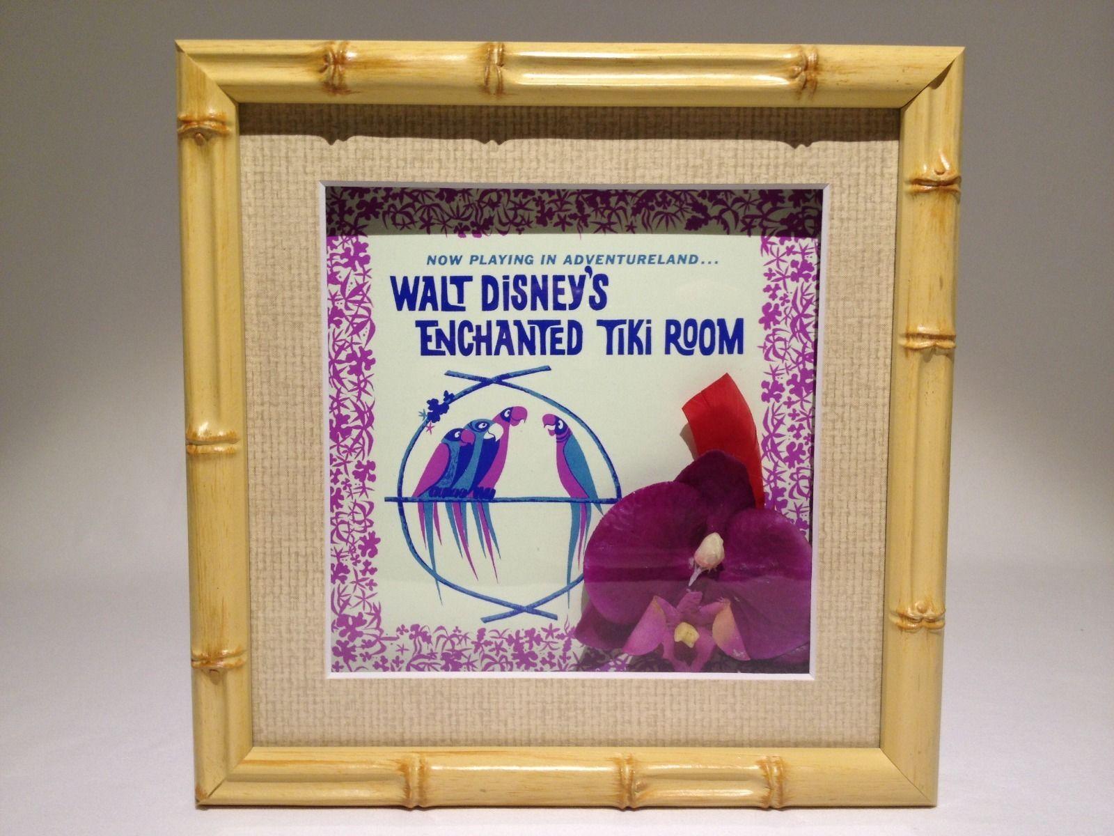Disneyland Club 33 Enchanted Tiki Room 50th Anniversary Flower and ...