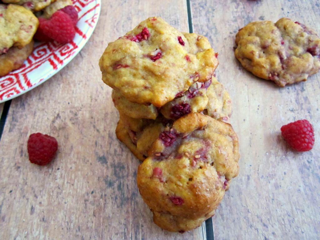 Raspberry Muffin Tops - Pumpkin 'N Spice
