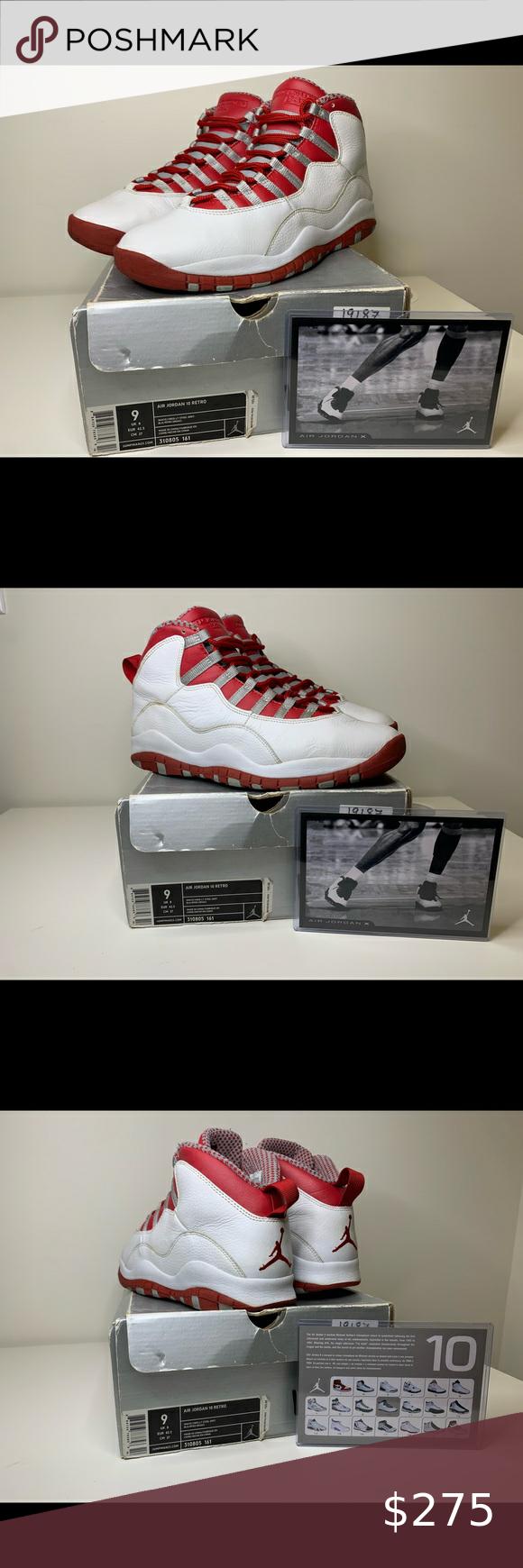 """Air Jordan 10 Retro """"Red Steel"""" in 2020"""