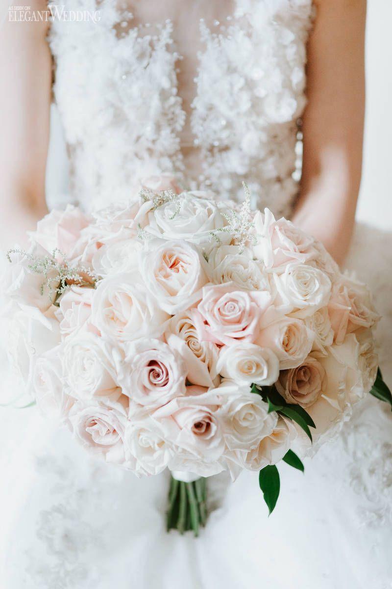 An Elegant Timeless Blush & Rose Gold Wedding | ElegantWedding.ca