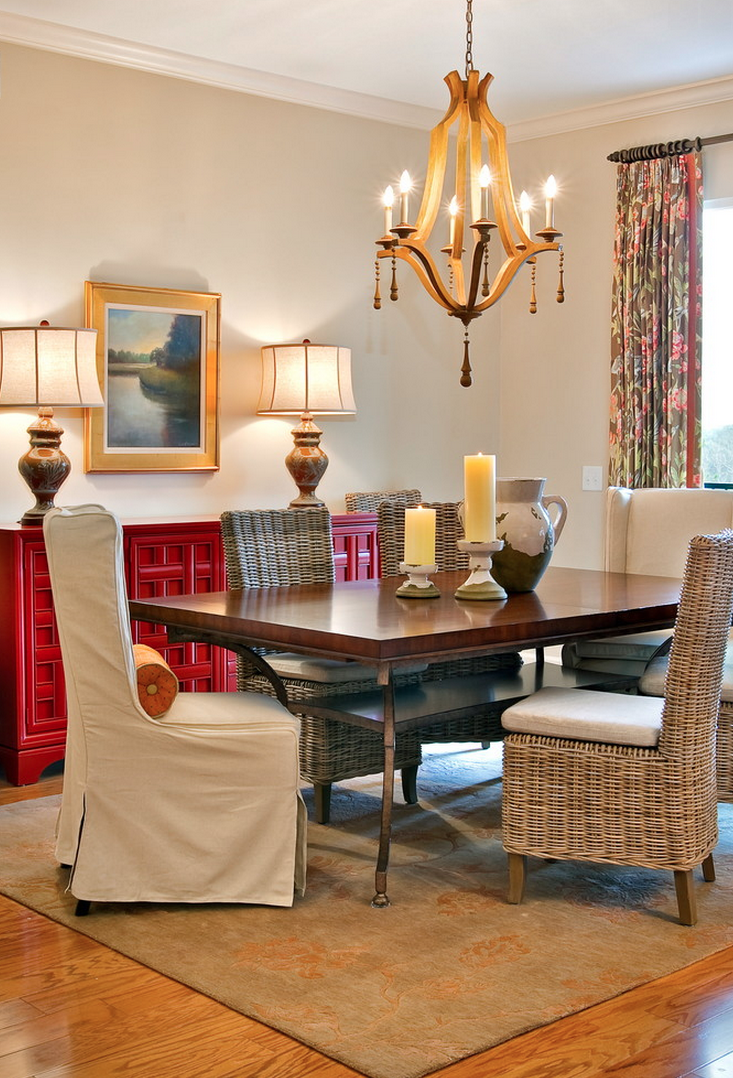 Deck Out Your Dining Room With Warm Beige Walls Dream Dining