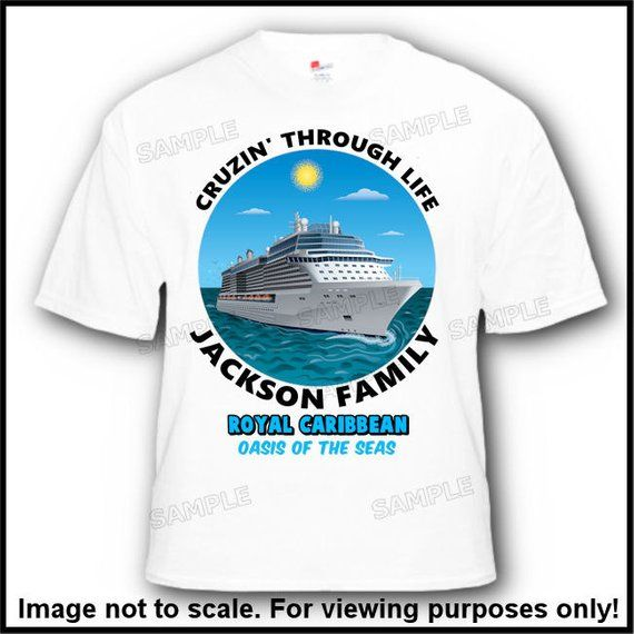 Family Cruise Vacation TShirts Ocean Tropical