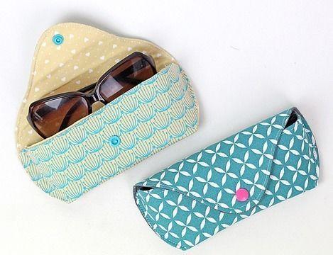 Nähanleitung Brillenetui CLEO   Sonnenbrille & Brille   Brillenetui ...