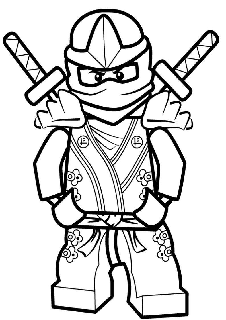 Ausmalbilder Ninja