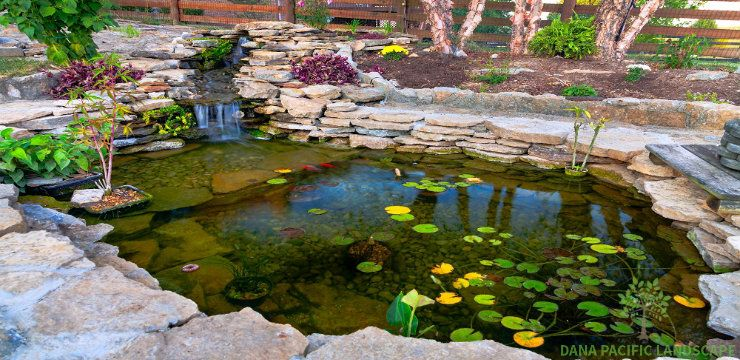 Having such kind of water feature in your landscape provides attraction from everywhere and create an ambient aura for your landscape design.