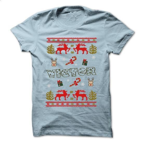 Christmas VICTOR ... 999 Cool Name Shirt ! - #tshirt blanket #cute sweater. MORE INFO => https://www.sunfrog.com/LifeStyle/Christmas-VICTOR-999-Cool-Name-Shirt-.html?68278