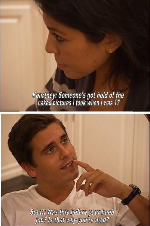 Hahaha.. Scott will say anything.