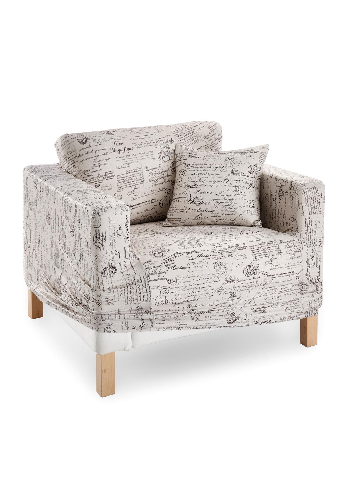 Husse Mit Vintage Design Wohn Mobel Stuhlhussen Und Sessel