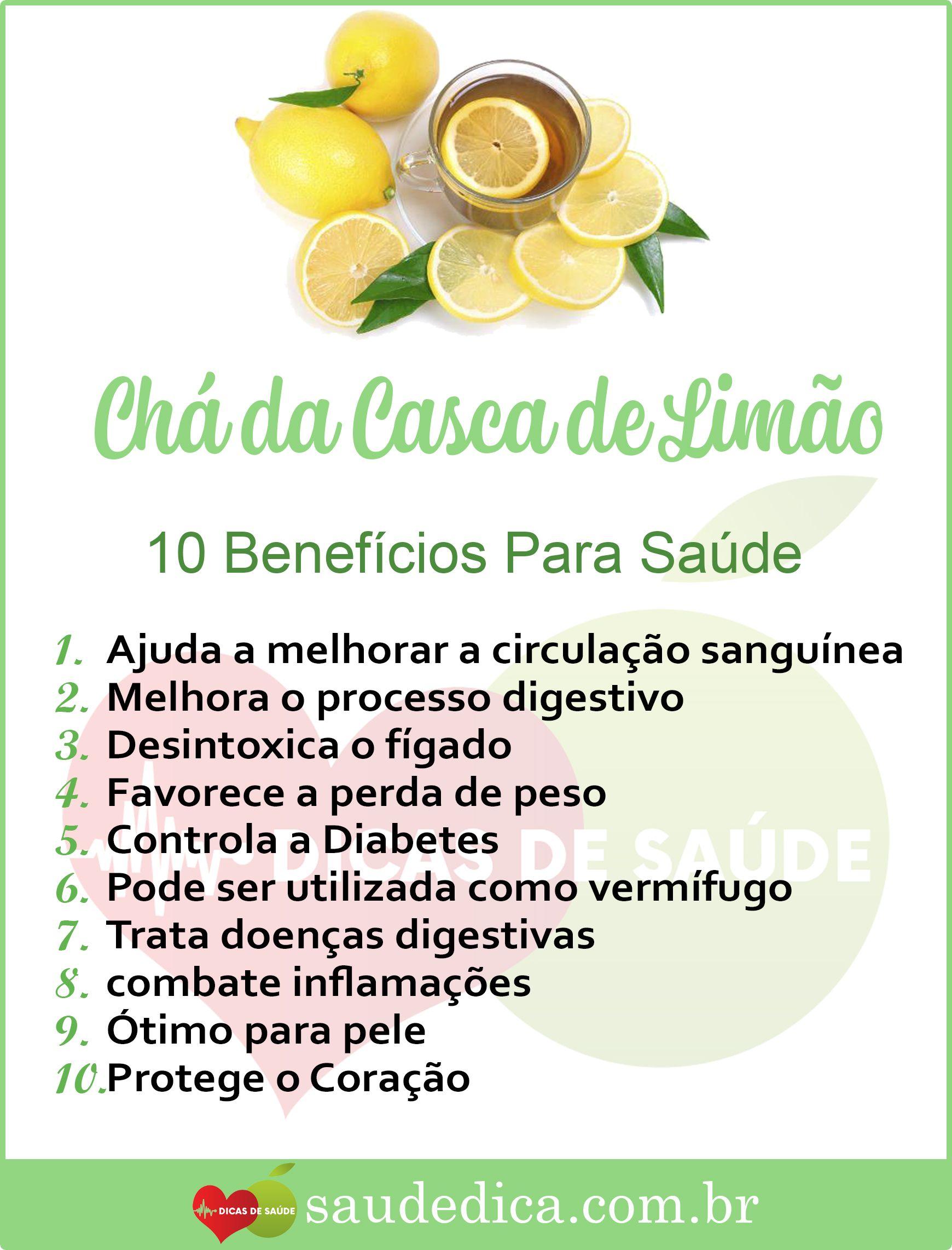 Os 10 Beneficios Do Cha De Casca De Limao Para Saude Osteoporose