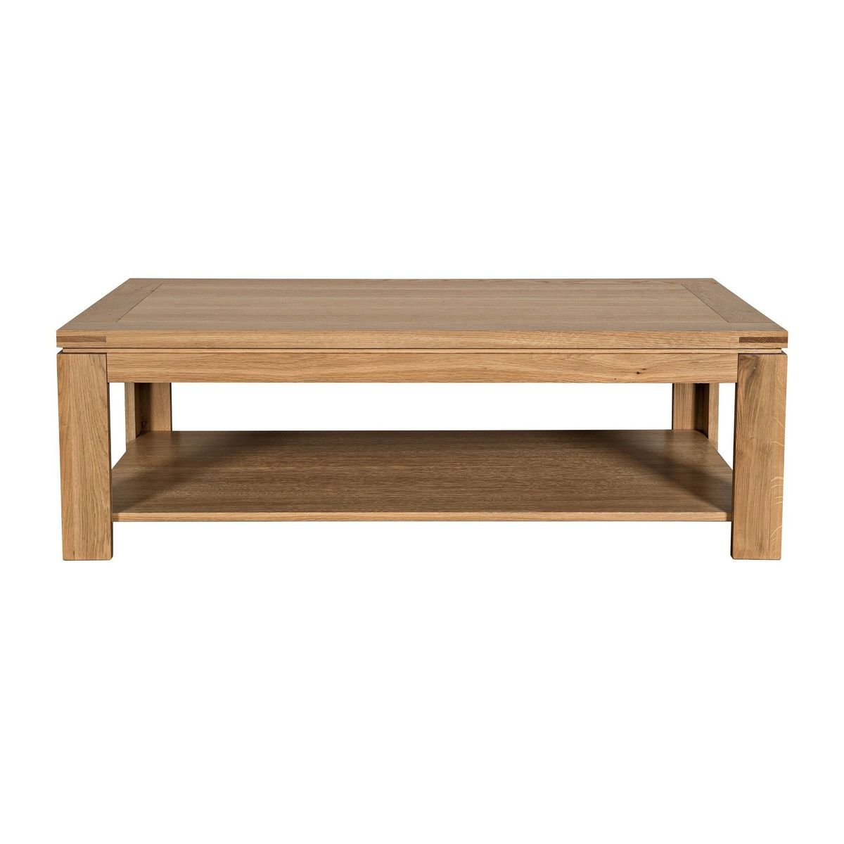 Table Basse Moderne Boston Bois Chene Clair Massif Chene Clair Hellin Depuis 1862 La Redoute Table Dining Bench Furniture