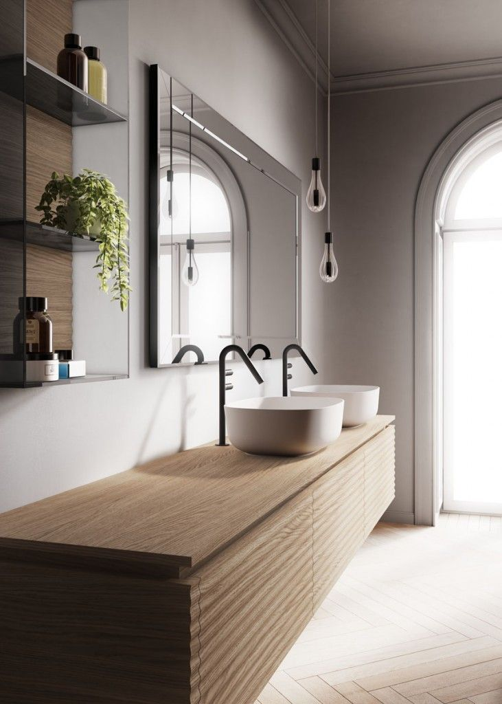 Photo of Dolcevita: furniture for a modern, sophisticated bathroom – Ideagroup