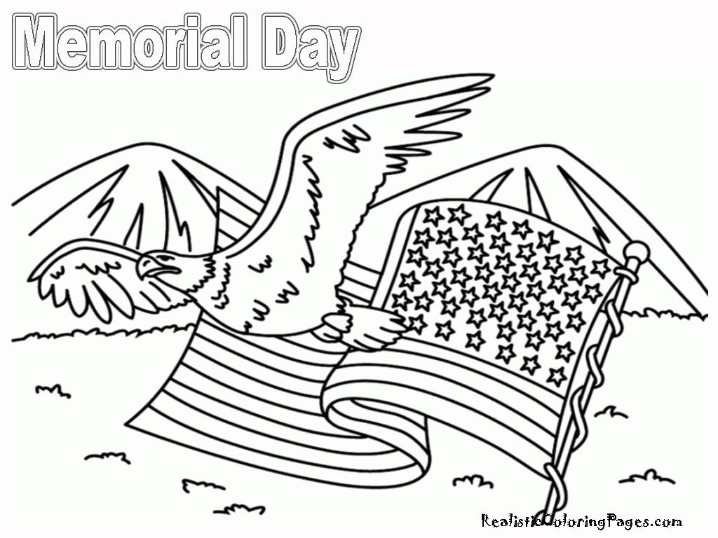 Memorial Day Coloring Sheets Printable Free Printable