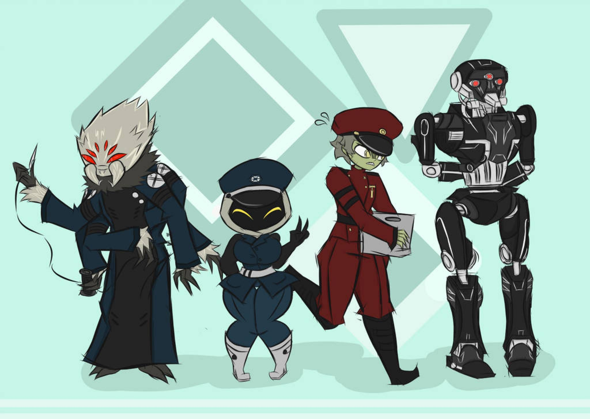 GOTS- Minor CIS Characters by piktips on @DeviantArt   Star