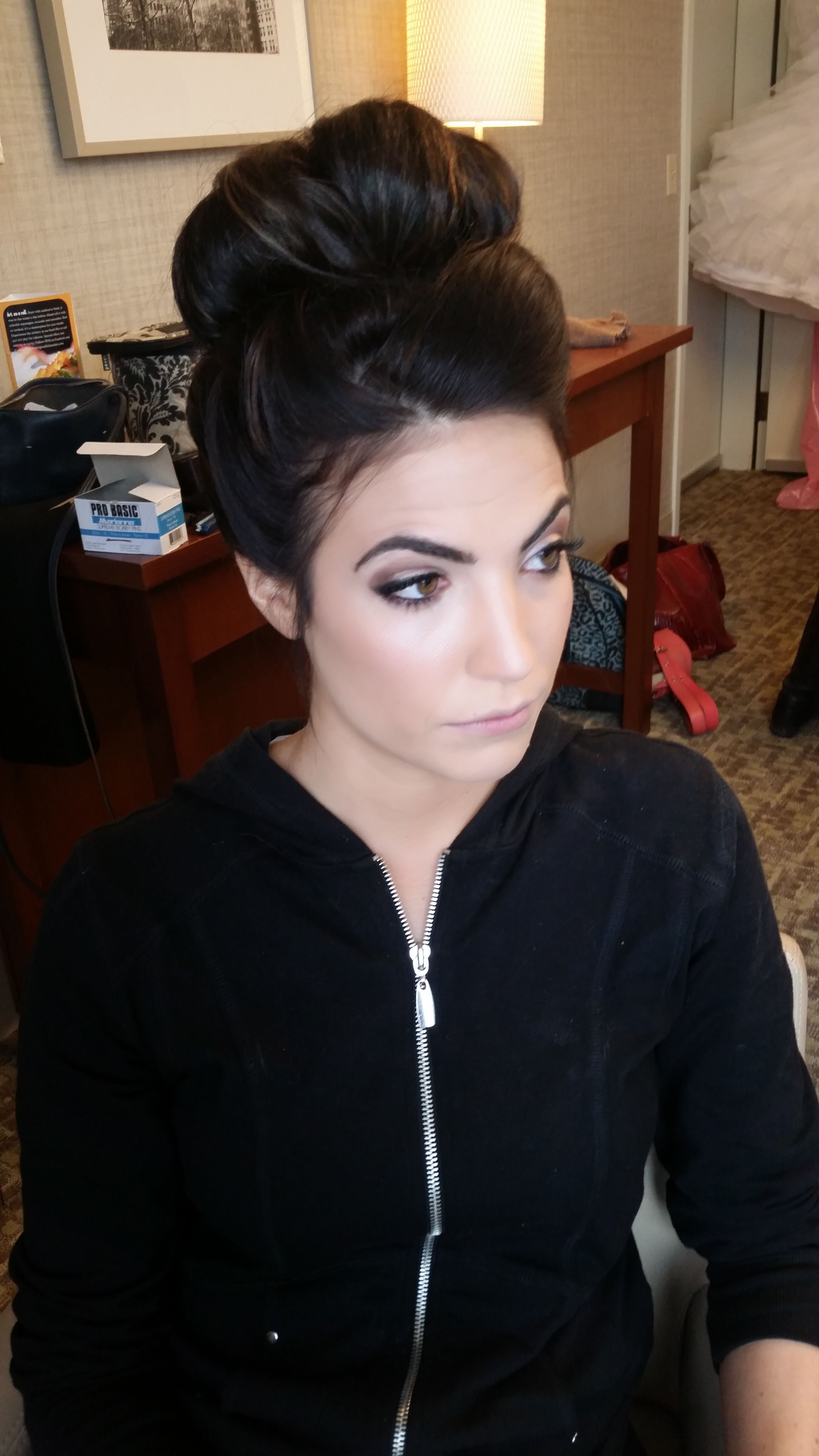 Wedding hair & makeup by Justine Lynn Pittsburgh Hair