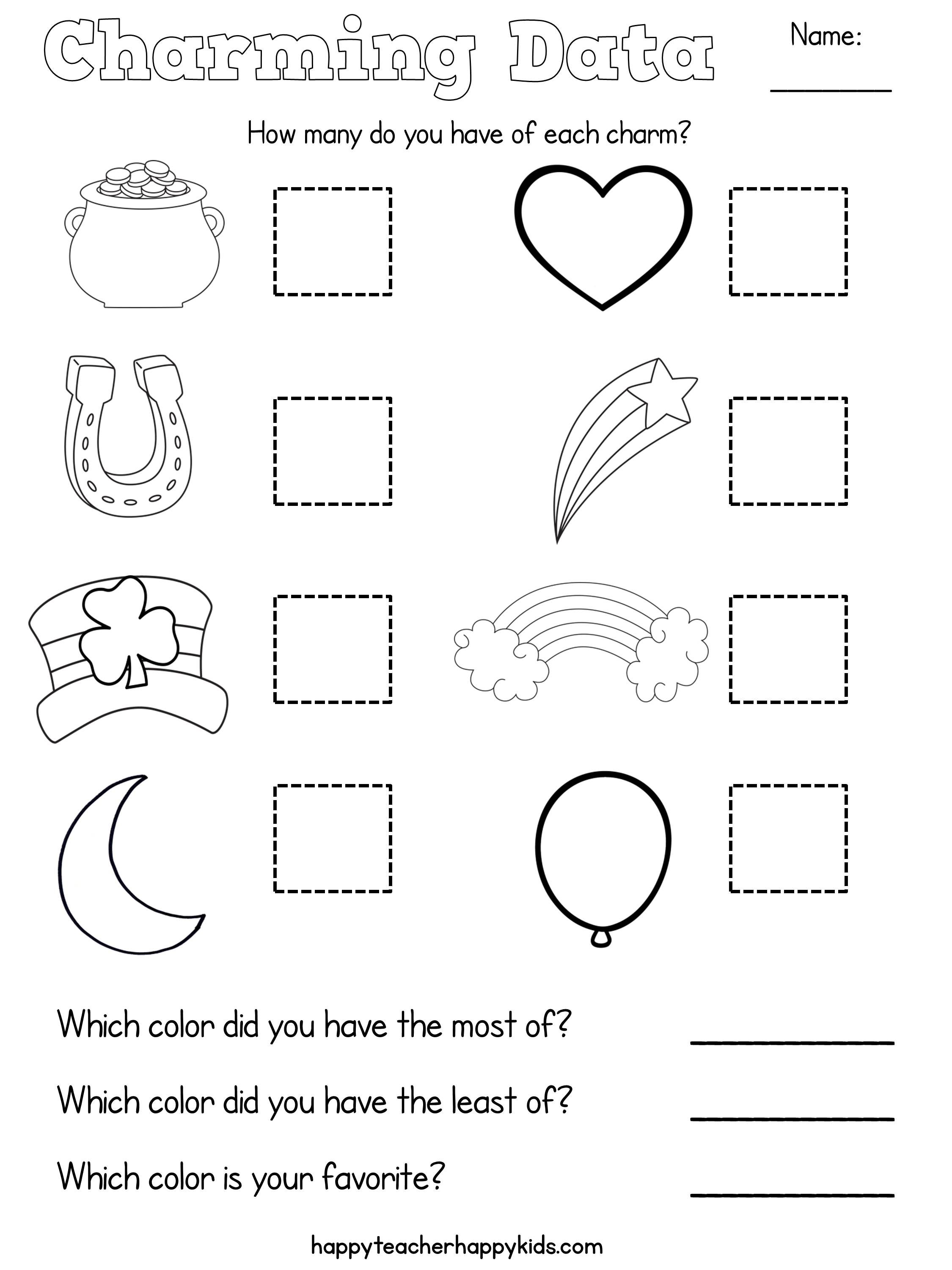 Free Lucky Charms Math More With Images Lucky Charm Math