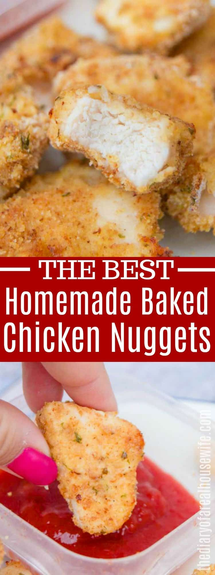 Baked Chicken Nuggets • The Diary of a Real Housewife