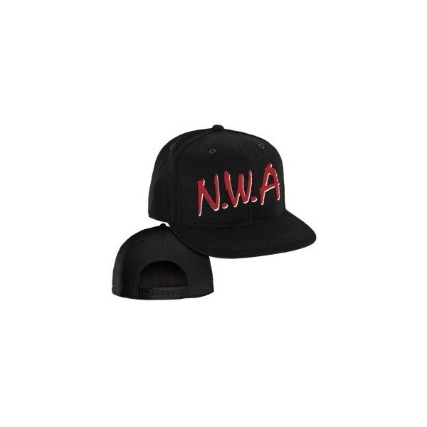 fc511abbd87 Baseball Cap N.W.A. ( 24) ❤ liked on Polyvore featuring accessories ...