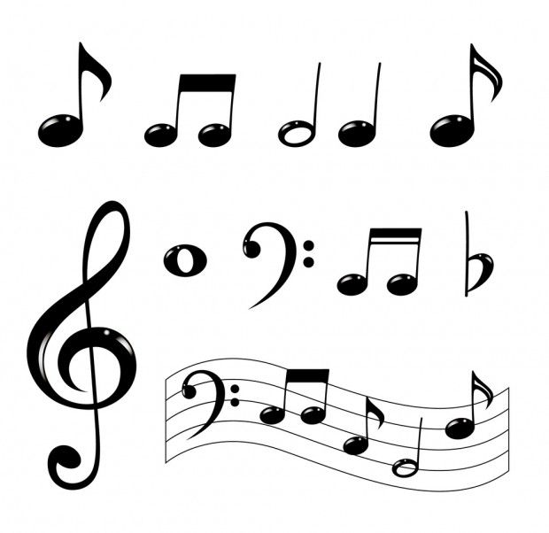 How To Draw Music Notes Drawing Music Notes Art Music Drawings