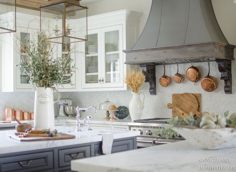 4 essential elements for easy fall decorating | kitchen dreams