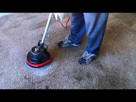 Cleaning Badly Stained Carpet With Oreck Orbiter Ridgid Wet