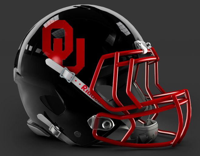 innovative design 6ecfc cc9e0 OU Black helmet | OKLAHOMA - There's Only One | Oklahoma ...