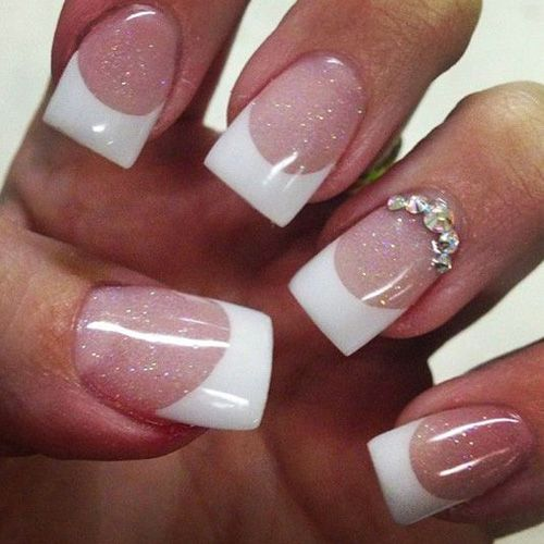 Best French Manicures Manicure Nail Designs Nails And Natural