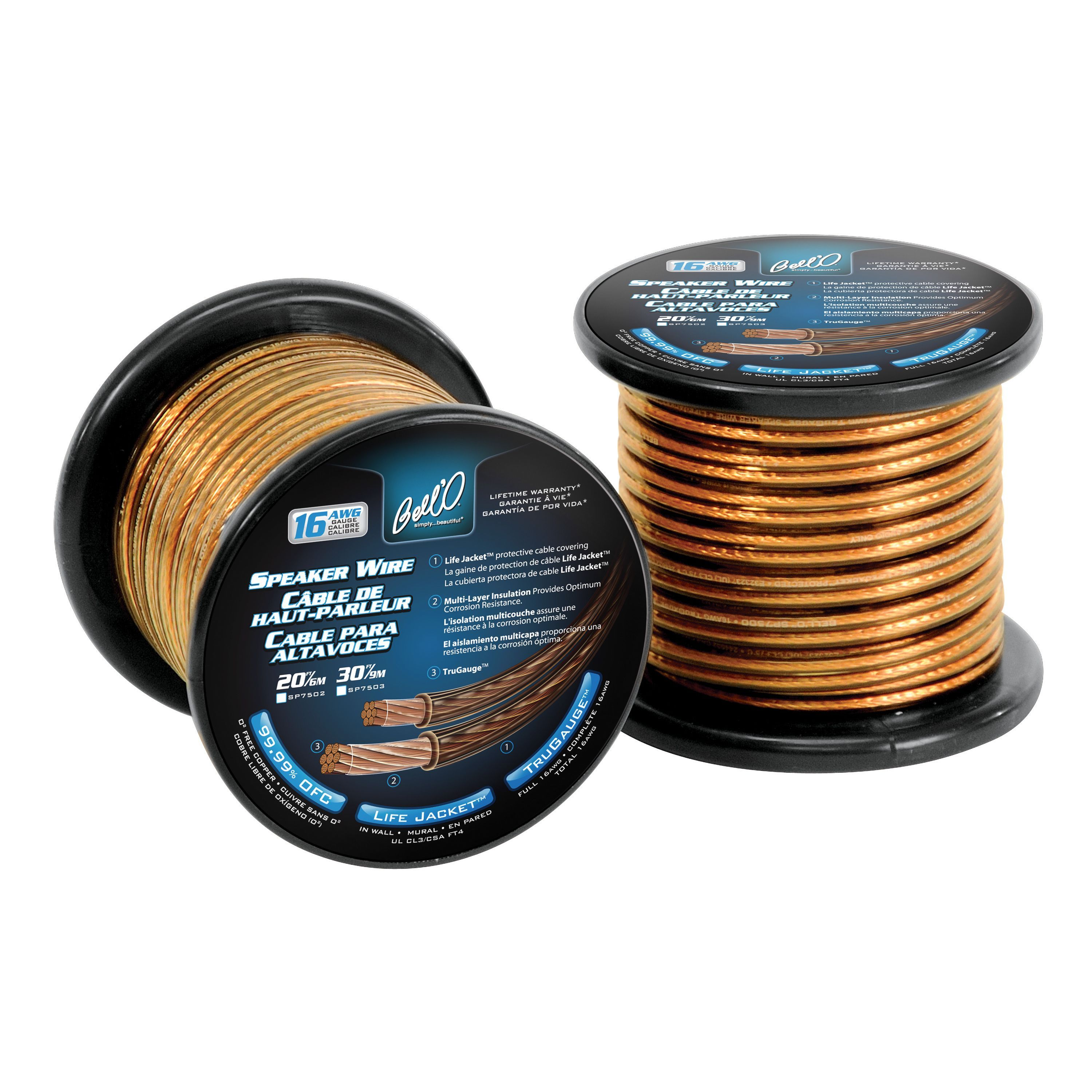 Bell\'O 7000 Series SP7502 Speaker Cable   Products   Pinterest ...