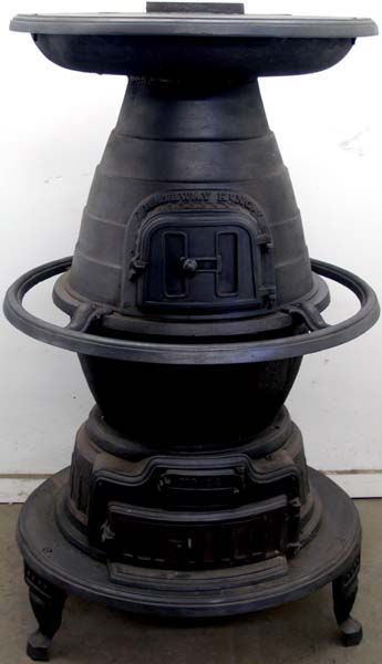 Railway King 14 Wood And Coal Antique Potbelly Stove