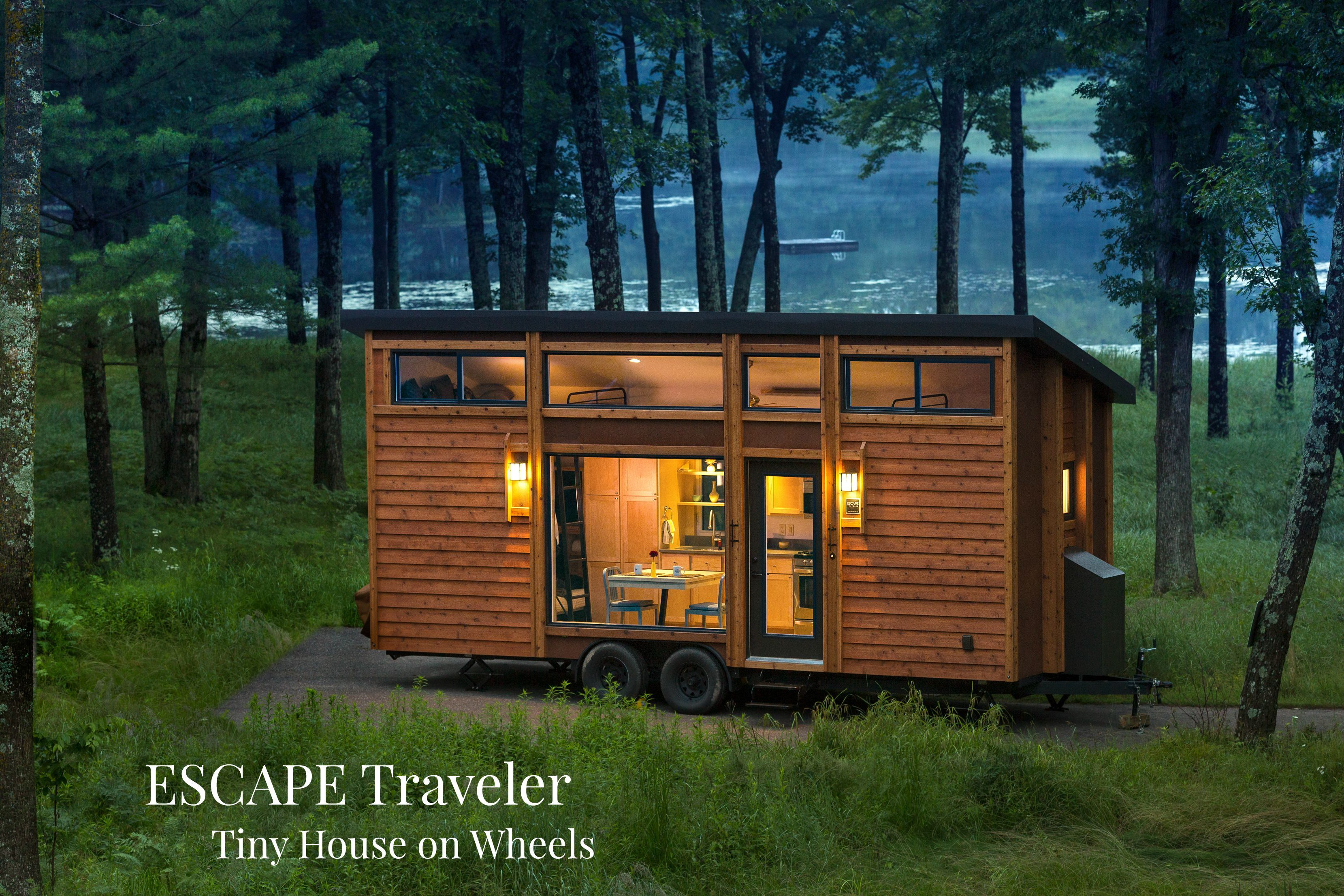 ESCAPE Traveler Tiny House on Wheels Tiny houses Wheels and