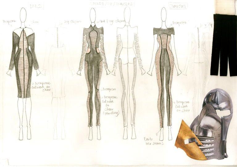 Vir Shete London College Of Fashion Showtime Fashion Process London College Of Fashion Fashion Sketchbook
