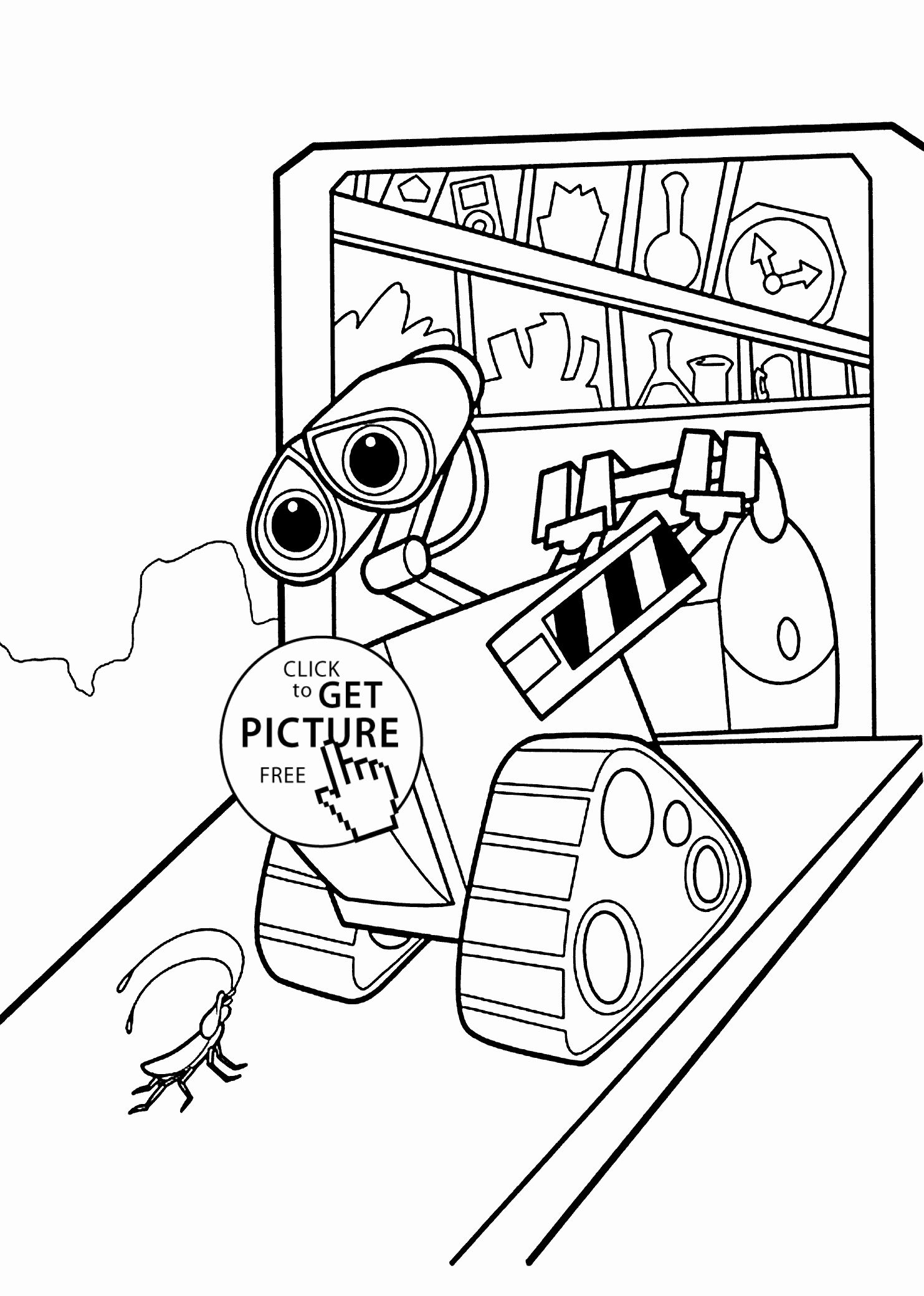 Rainbow Coloring Page Preschool Lovely Wall E Home