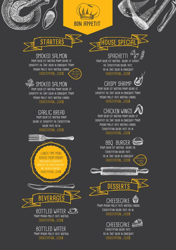 Cartaz #DesignGrafico #Cor #Tipografia #Restaurante ) Graphic - mesas de diseo