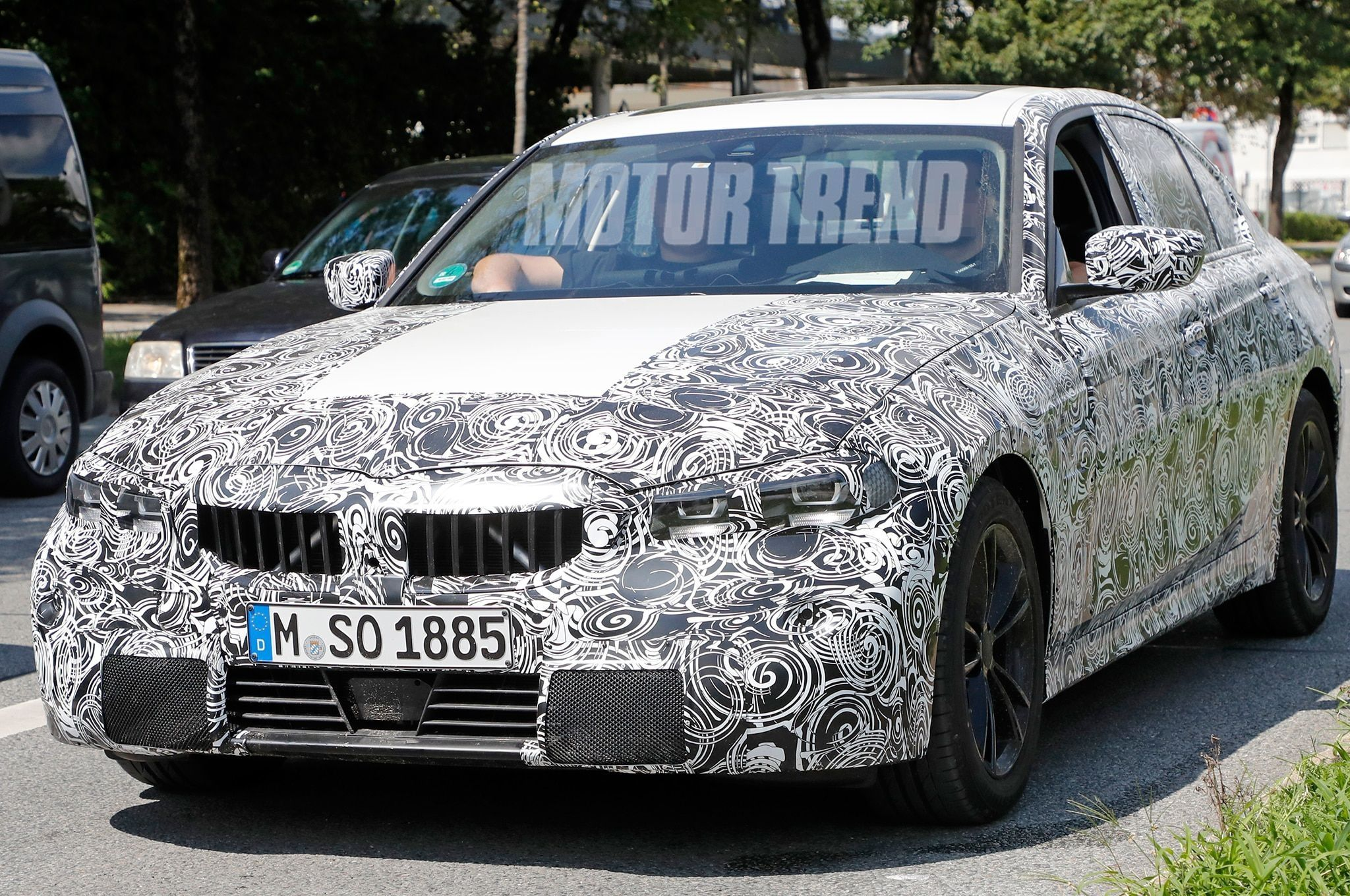 Spy Shots BMW 3 Series New Model and Performance