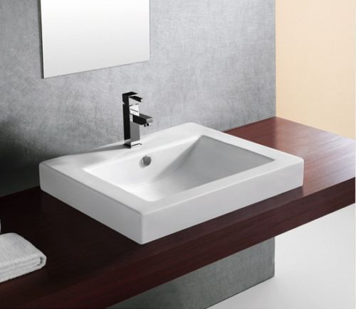 24 X 20 Rectangle Bathroom Drop In Vessel Sink Bs 4024a Cupc