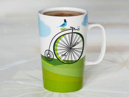 bike mug. ❤️ the bluebird too!!